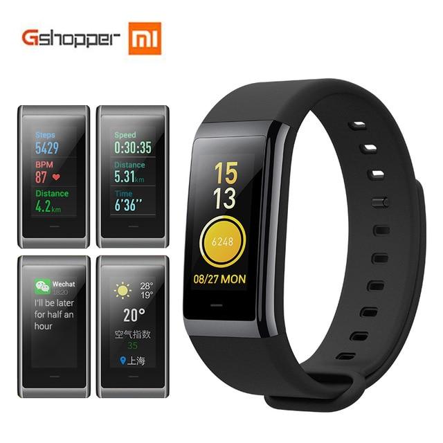Huami AMAZFIT Bip Midong Smartband Bluetooth 4.1 Smart Band GPS Heart Rate Monitor 50m Swimming Waterproof 12 Days Battery Life huami amazfit heart rate smartband