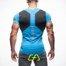 Summer short-sleeve t-shirt men gyms sporting fashion tshirt homme t shirt men fitness crossfit camisetas t-shirt men