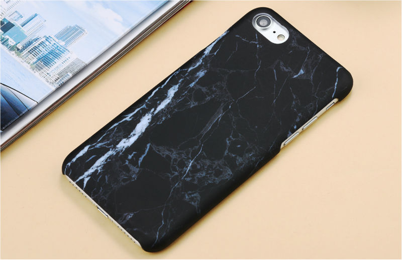 HTB1B6KQPFXXXXc8XVXXq6xXFXXX8 - Marble Pattern Phone Case For iPhone 7 5 5s SE 6 6s Plus Smooth Hard Plastic Phone Back Cover Cases For iPhone7 Plus PTC 131