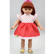 Popular 18 inch American girl Dress Children gift  Doll Accessories