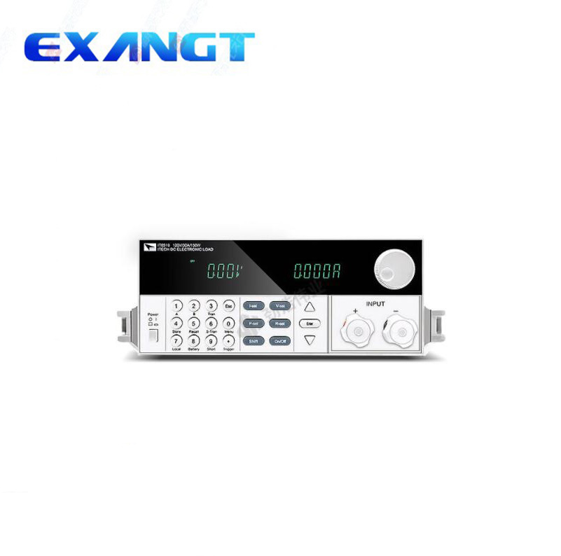 Nuevo (ITECH) carga electrónica programable IT8510/120 W/120 V/20 a dc fuente de alimentación