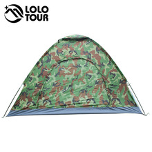 Outdoor Carpas Camping Military Tent Ultralight Camouflage Teepee Beach Fishing Hunting 3-4 People Gazebo Canopy