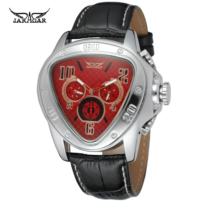 sport item luxury show watches leather cobra army week men military brand watch calendar mechanical automatic