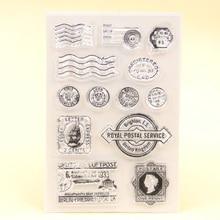 sello correos RETRO VINTAGE