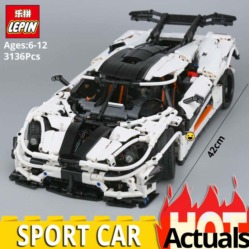 Lepin 23002 3136Pcs Technic Series The MOC 4789 Changing Racing Car Model Set Children Educational Building Blocks Bricks Toys цена