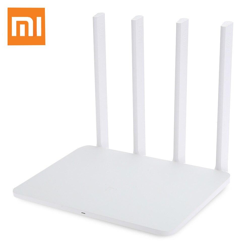 Origine Xiao mi mi WiFi Routeur 3g 1167 Mbps 2.4 ghz 5 ghz Double Bande Sans Fil Wi-Fi Routeur 128 mb ROM 4 Antenne Chinois Version