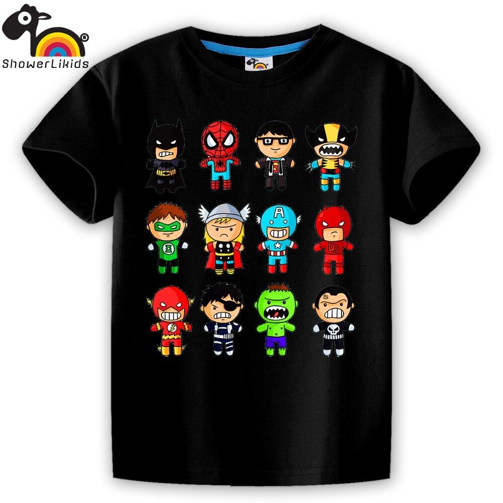 showerlikids Wysokiej jakości bawełniana koszulka z krótkim - Ubrania dziecięce - Zdjęcie 2