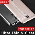 Xiaomi redmi note 3 pro case silicone ultra fina ibear xiomi redmi note3 coque claro bumper proteção transparente de volta