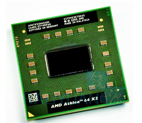AMD Athlon 64 X2 TK53 TK 53 TK-53 - AMDTK53HAX4DC  Laptop Processor CPU Socket S1