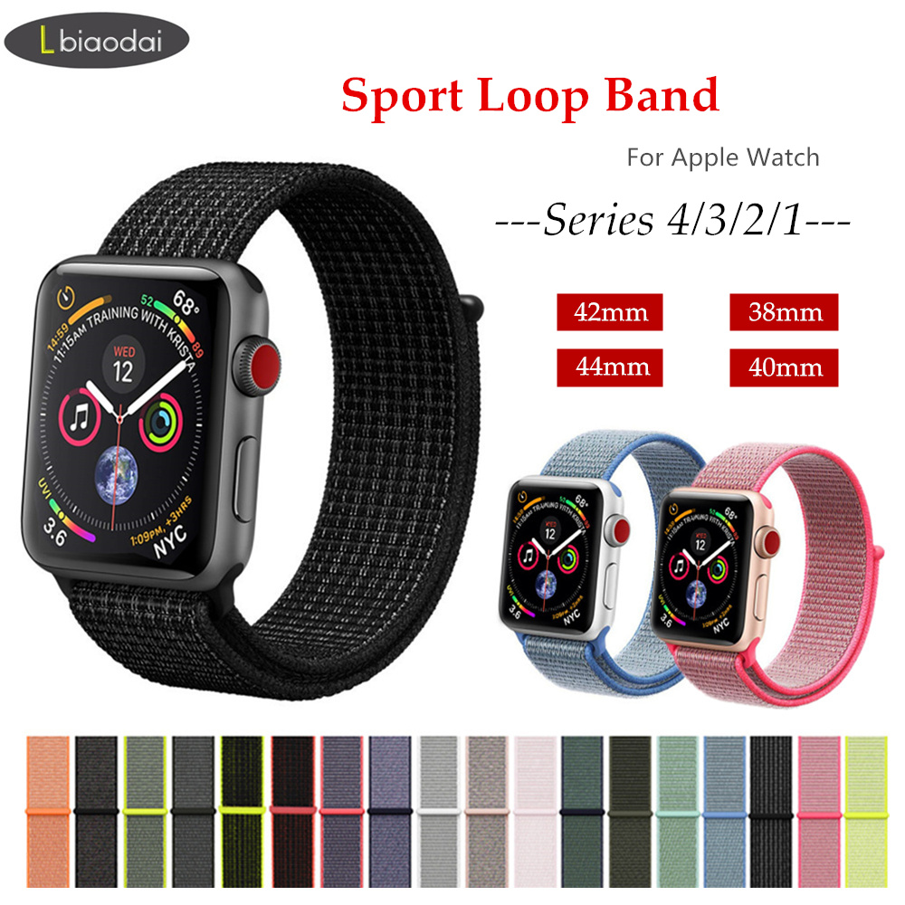 Sport loop for apple watch band 42mm/44mm 38mm/40mm iwatch