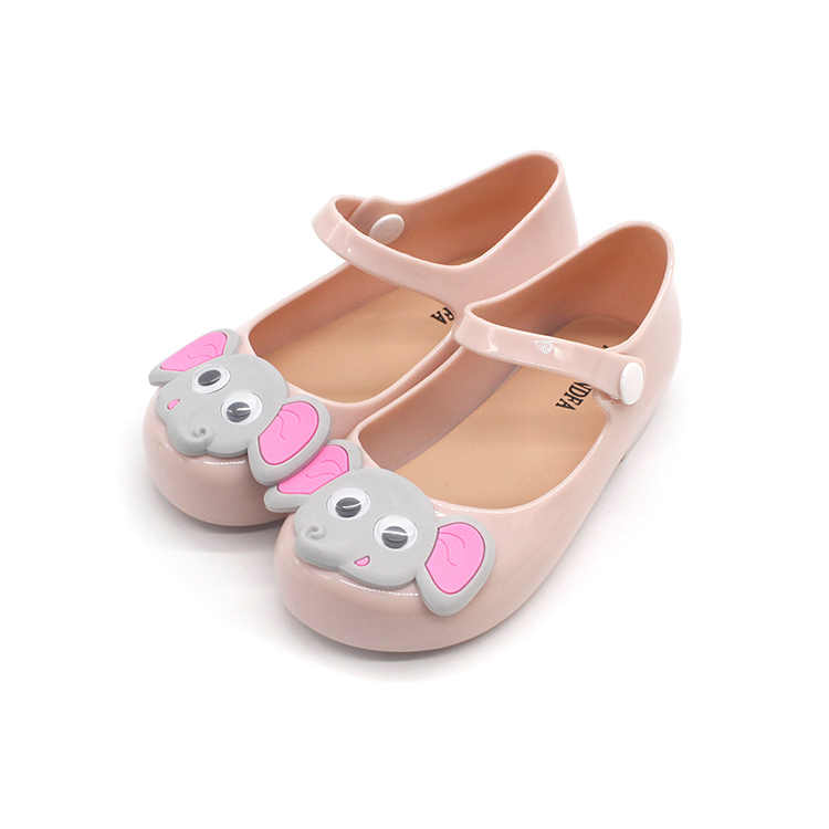 Toddler Infant Kids Baby Girls Cartoon Casual Princess Cute Jelly Shoes Sandals