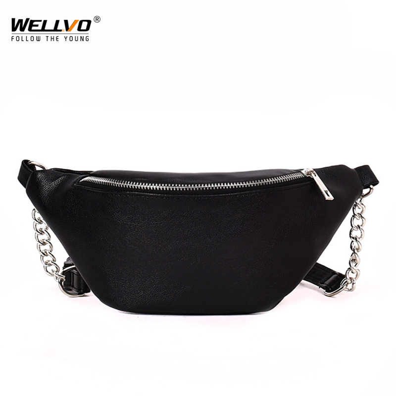 Woman Leather Small Waist Packs Multifunctional Phone Coin Purse Wallet Storage Bag Travel Chest Bag Crossbody Bags Male XA186WC
