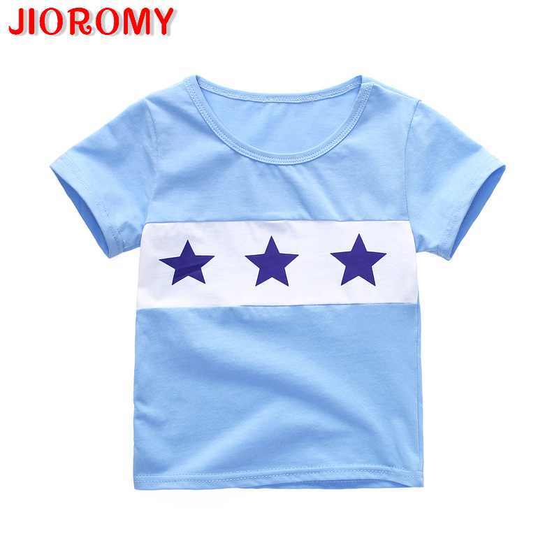 T-Shirt Boy Short-Sleeve Children's New The of A Undertakes-F1 Star-Pattern Multi-Color-Optional