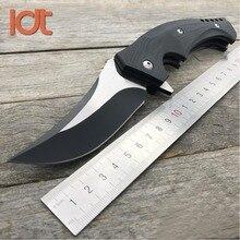 LDT OEM C196 Мамба Тактический Складные лезвия ножей CPM S30V лезвие G10 ручка Отдых на природе Охота выживания Ножи Открытый EDC инструменты
