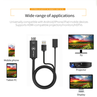 New Universal USB to HDMI Cable Bluetooth AV Sync Audio Video Adapter For iPad for iPhone X XS MAX XR 6s 7 8 Plus Android Phone