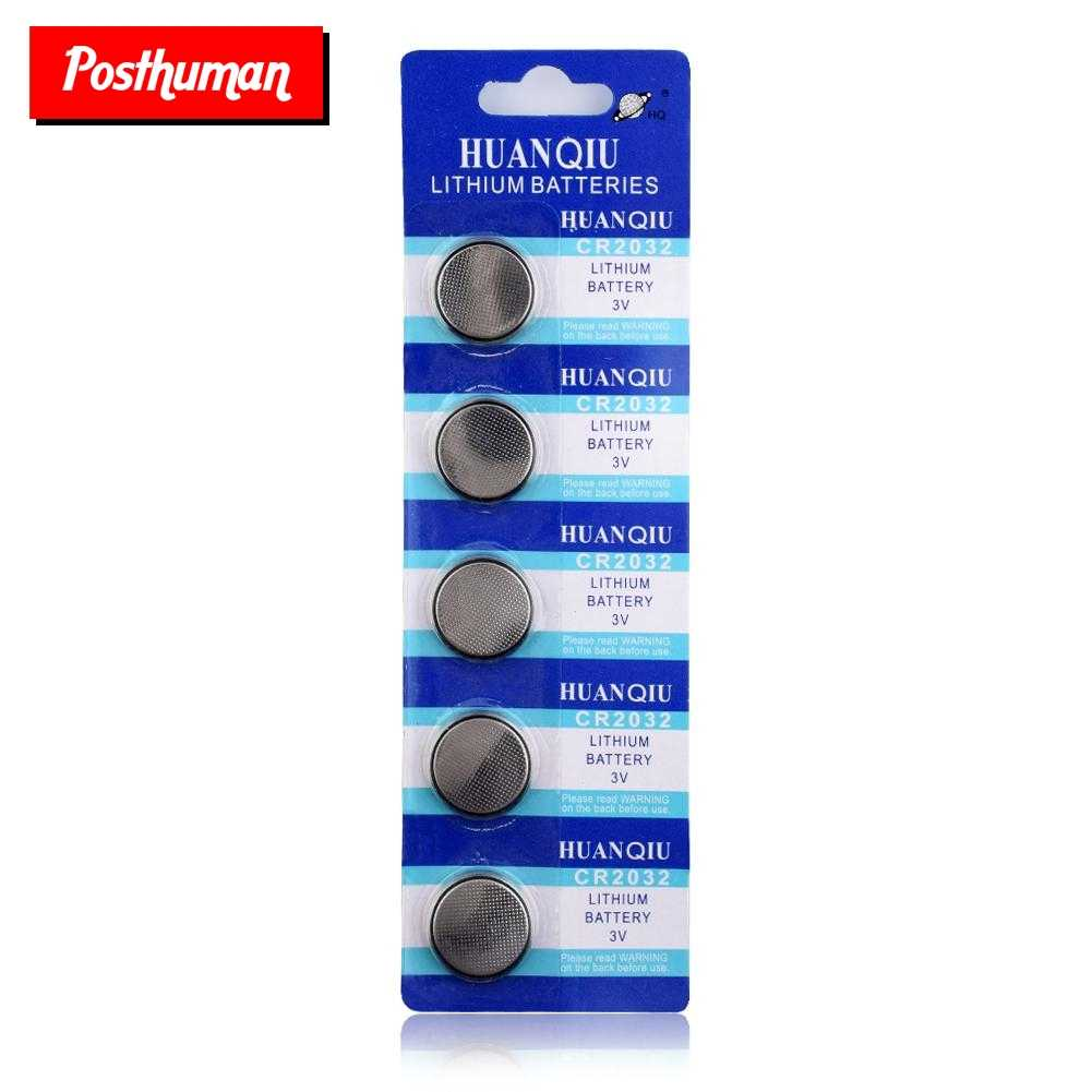 POSTHUMAN For watch Main Board pilas boton 5004LC ECR2032 CR2032 DL2032 Button battery Watch Button Coin Cells Lithium Battery