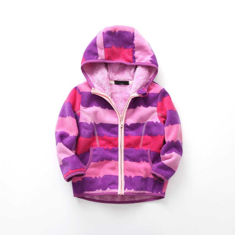 תינוק ילד מעיל בנות מעילי סתיו 2018 חורף ילדה מעילי ילדי בני הלבשה עליונה צמר ברדס חם מעיל לילדים בגדים