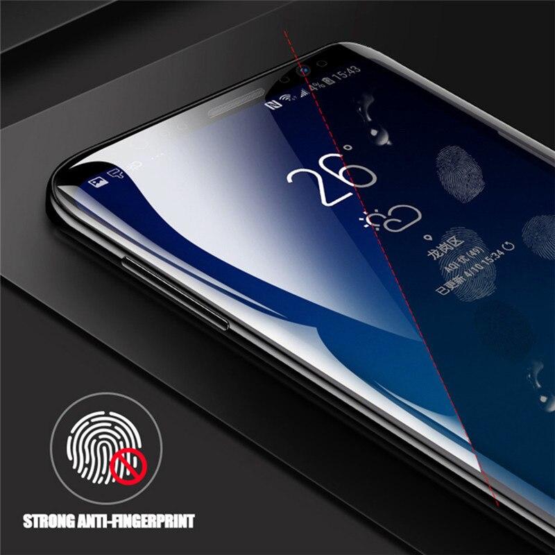 3D pełna pokrywa miękkie hydrożelowe Film do Samsung Galaxy S10 S8 S9 A8 Plus S7 krawędzi uwaga 9 8 A9 s10 Plus Lite 5G folia ochronna na ekran 27