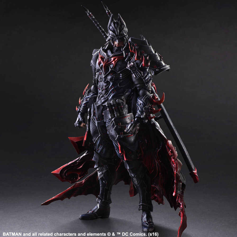 2017 Play Arts BUSHIDO BATMAN 27 cm Action Figure Toys