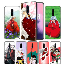 Inuyasha Anime Soft Black Silicone Case Cover for OnePlus 6 6T 7 Pro 5G Ultra-thin TPU Phone Back Protective