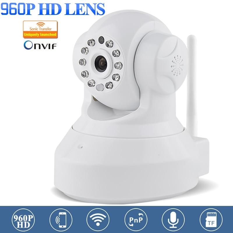 New White 960P HD CCTV Wifi IP Camera IOS Android APP Remote Control IR-cut Night Vision Wireless HD P2P Security Camera камера наблюдения trek ai ball wifi ip iphone ios android sc001 p28 cctv sc001