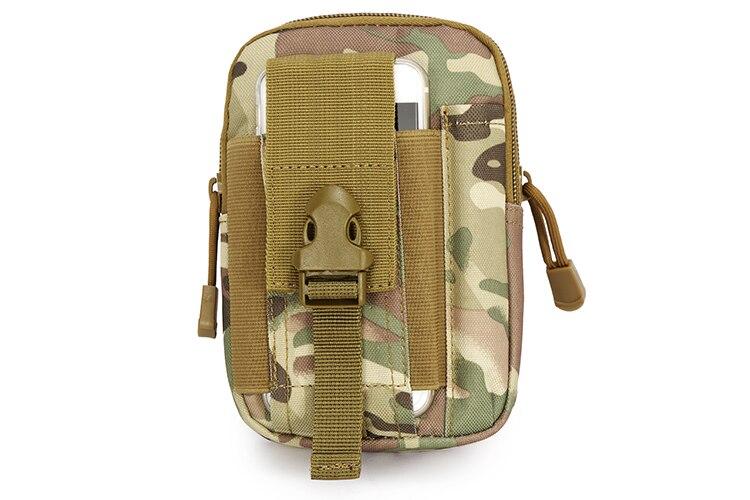 Waist Bag For Men Multiple function Waterproof Military Belt Waist Bags Mobile Phone Wallet Travel Pouch Waist Packs