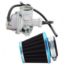40mm High Performance Motorcycle Carburetor Carb with Air Filter for Honda 3 / Engine ATC110 1979-1985