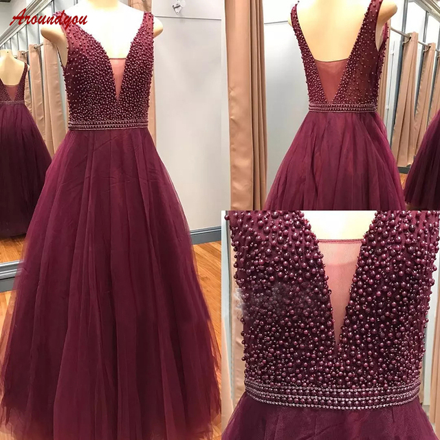Burgundy Mother Of The Bride Dresses For Wedding Party
