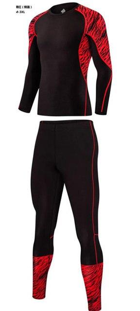 1eeaa2a010 Conjuntos de roupa interior térmica underwear homens esporte compressão  velo thermo cueca homens roupas de secagem
