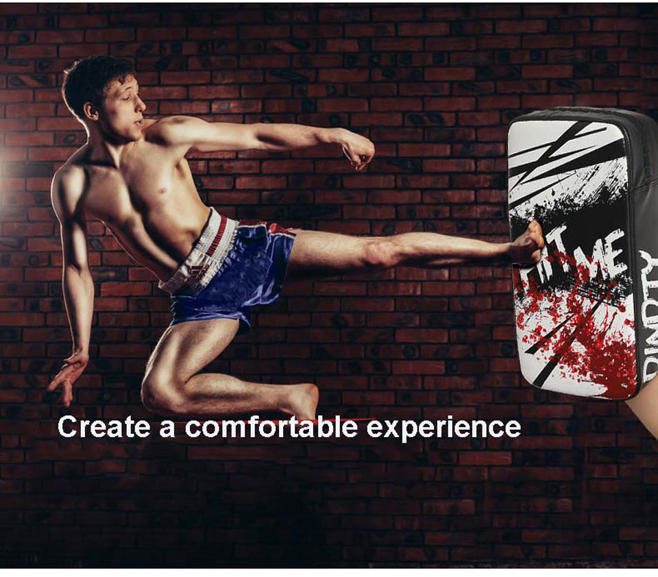 Боксерская рукавица защита целевой крюк фокус пробивная площадка Каратэ Муай тайские Близнецы фокус груша Pad Guantes Boxeo