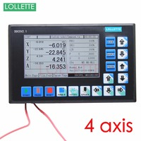 DDCSV1 1 CNC Control System USB 500KHz 4 Axis Motion Controller TFT Linkage G Code ARM9