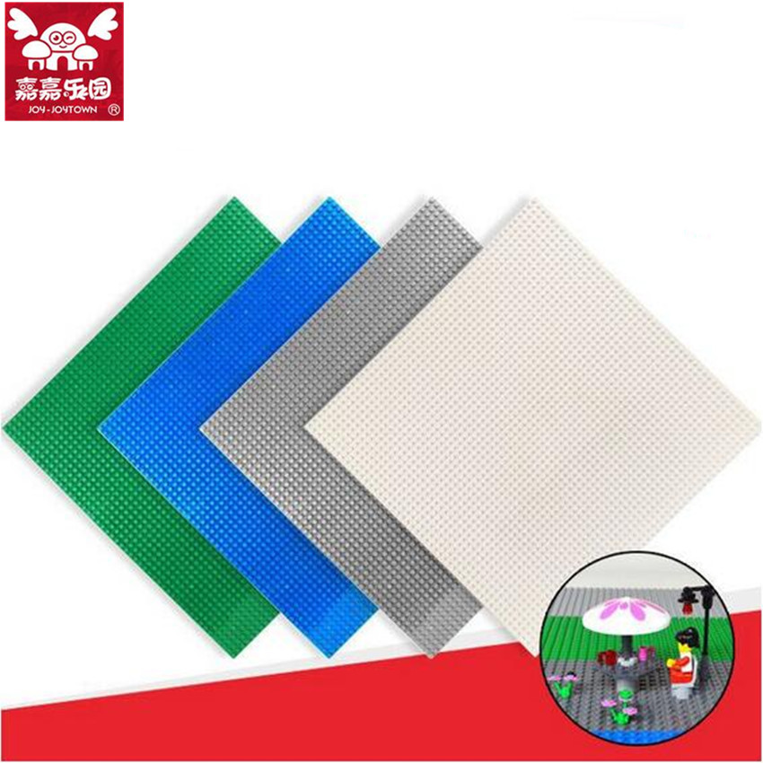 32*32 Dots Brand Compatible Small Bricks Blocks Base Plate 25.5*25.5CM Kids DIY Educational Building Baseplate Toys Gift new big size 40 40cm blocks diy baseplate 50 50 dots diy small bricks building blocks base plate green grey blue