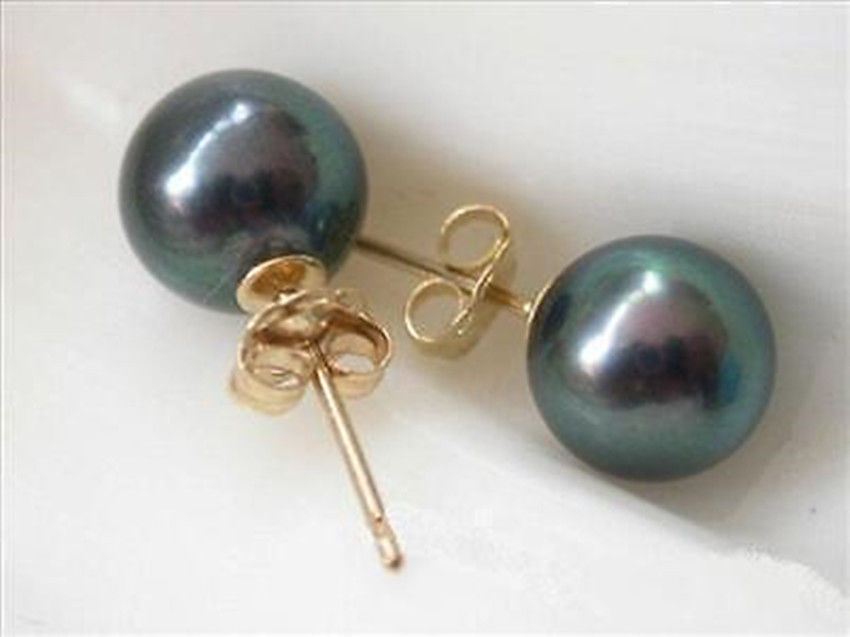 65fd840ad2 Venta caliente nuevo estilo> delicado 12mm perlas de concha negro semental  amarillo