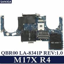 Kefu QBR00 LA-8341P REV: 1,0 ноутбук материнская плата для Dell Alienware M17X R4 100% Тесты оригинальная материнская плата