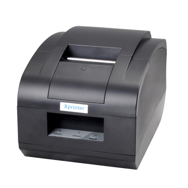 Xprinter impresora Térmica pos58mm LAN/ethernet interfaz mini impresora térmica de recibos/pop impresora con cortador automático