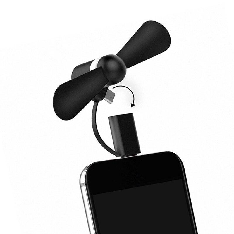 10 Stücke Mini Usb Fan Für Iphone 5 5 S Se 6 6 S 6 Plus 6 S Plus 7 Plus 8 X Xr Xs, Für Android Tragbare Kühler Handy Zubehör