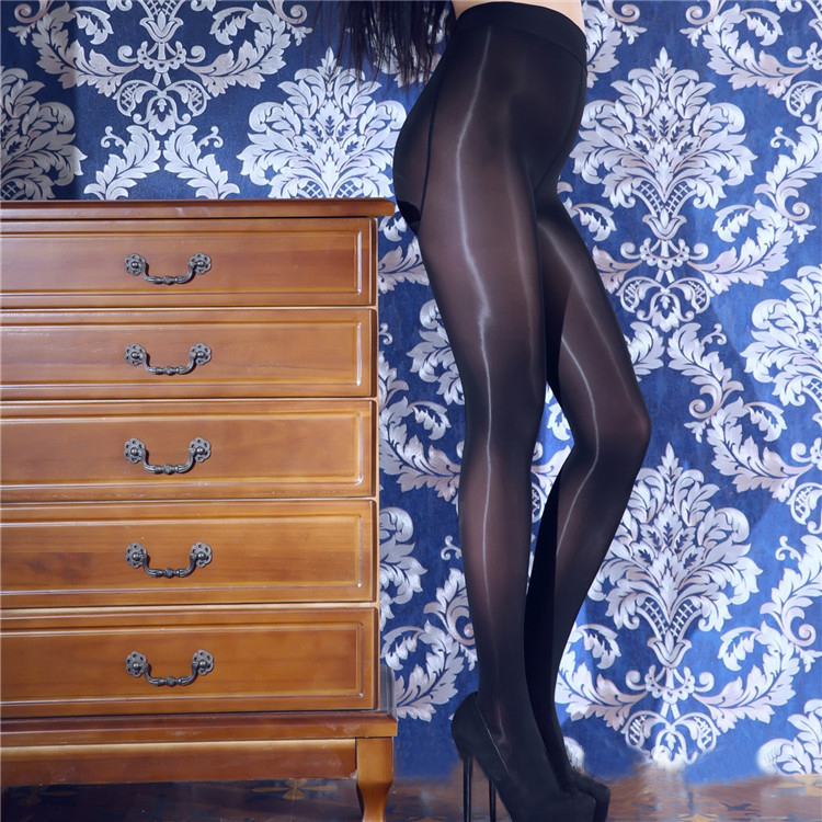 70D High Glossy Shape Firm Control All Over Shaping Pantyhose Women Shiny Tights