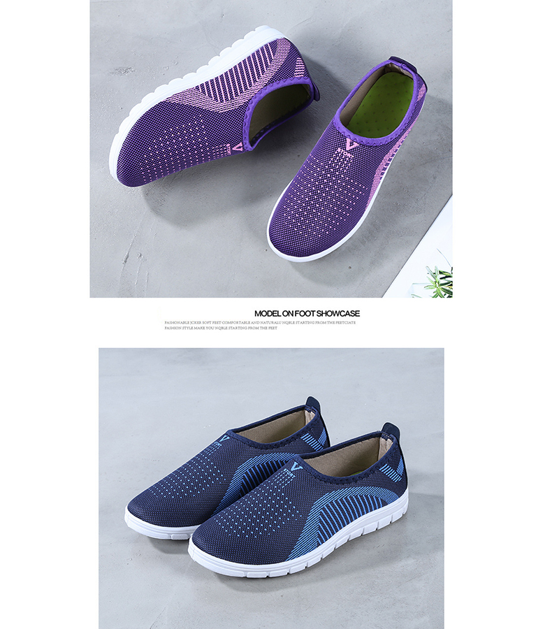 Mesh women sneakers Breathable Slip On casual shoes women fashion comfortable Summer Flat Vulcanize Shoes Zapatos Mujer VT248 (13)