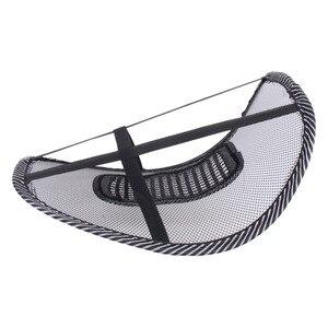 Image 4 - Assento de carro apoiado por uma almofada almofada de massagem lombar volta cintura cinta lombar assento suporta almofada cadeira de escritório assento de carro almofada