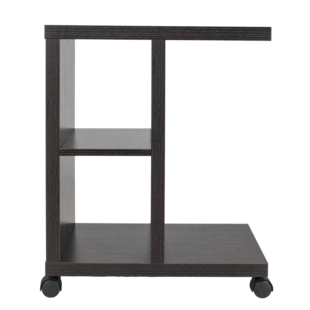 Rolling Accent Tables End Table With Storage Shelf Espresso Side Night  Stand Bed US In Coffee Tables From Furniture On Aliexpress.com | Alibaba  Group