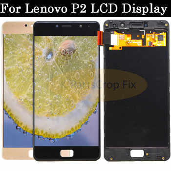 """original for Lenovo Vibe P2 LCD Display Touch Screen digitizer Assembly With Frame 5.5\"""" For Lenovo P2 P2c72 P2a42 LCD"""