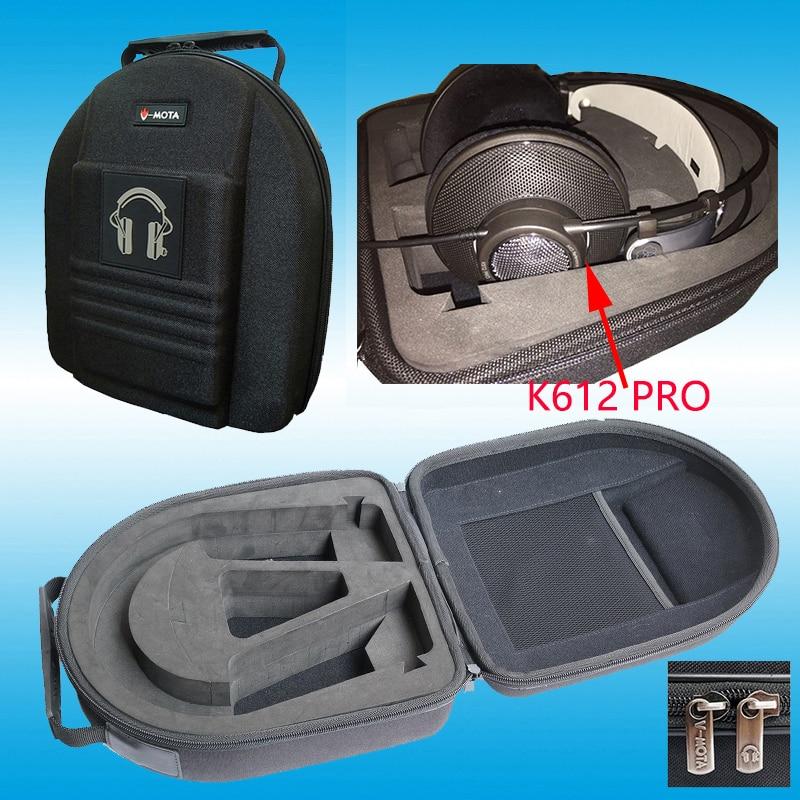 Слушалки V-MOTA TDC Случаи кутии за AKG K601 K701 K702 Q701 Q702 K712pro K612 K812 pro K272HD слушалки (куфар за слушалки)