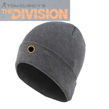Customize Embrodiery Logo Cap Game Tom Clancy's Division SHD Agent Cap Grey/Red/Black Knitted Hat for Men Women Winter Warm Cap