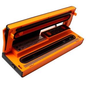 Image 3 - ATWFS Vacuum Sealer Sealing Machine Packing Machine Packaging Food Saver Automatic Cutting Vacuum Bag 10pcs for free