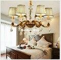 Europäische Moderne Bronze Kristall Kronleuchter Wohnzimmer Lampen Esszimmer Schlafzimmer Nordic Retro Kronleuchter Beleuchtung 100% Garantiert|Kronleuchter|Licht & Beleuchtung -
