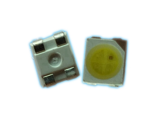100pcs Smd 3528 Bicolor Biocolor Led Diode Yellow@white Color