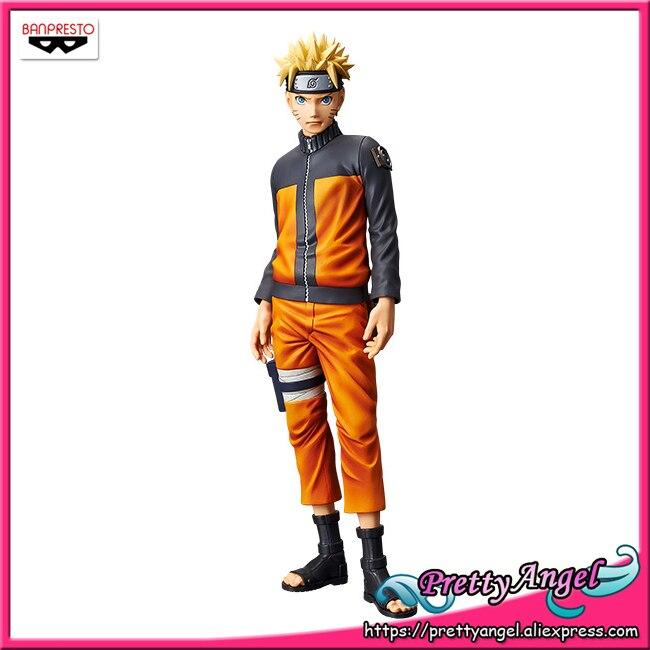 PrettyAngel Genuine Banpresto Grandista Shinobi Relations Uzumaki Naruto NARUTO Shippuden Collection Figure