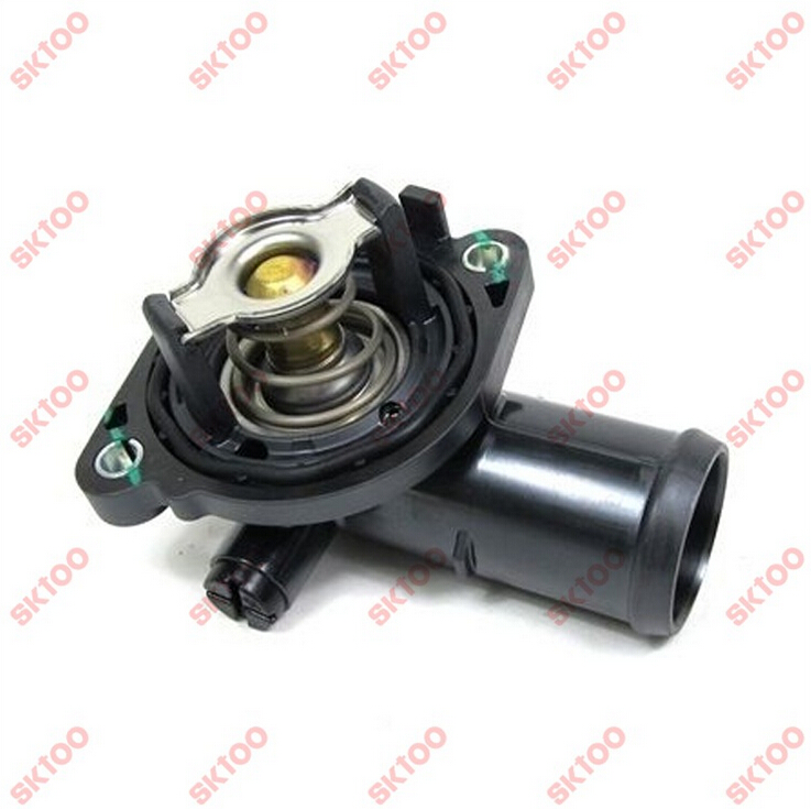 Thermostat assembly 5184570AG for jeep Chrysler thermostat housing in Thermostats Parts from Automobiles Motorcycles