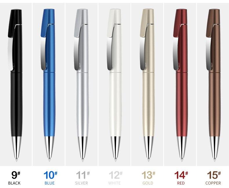 ação metal clipe bola caneta logotipo personalizado impressão