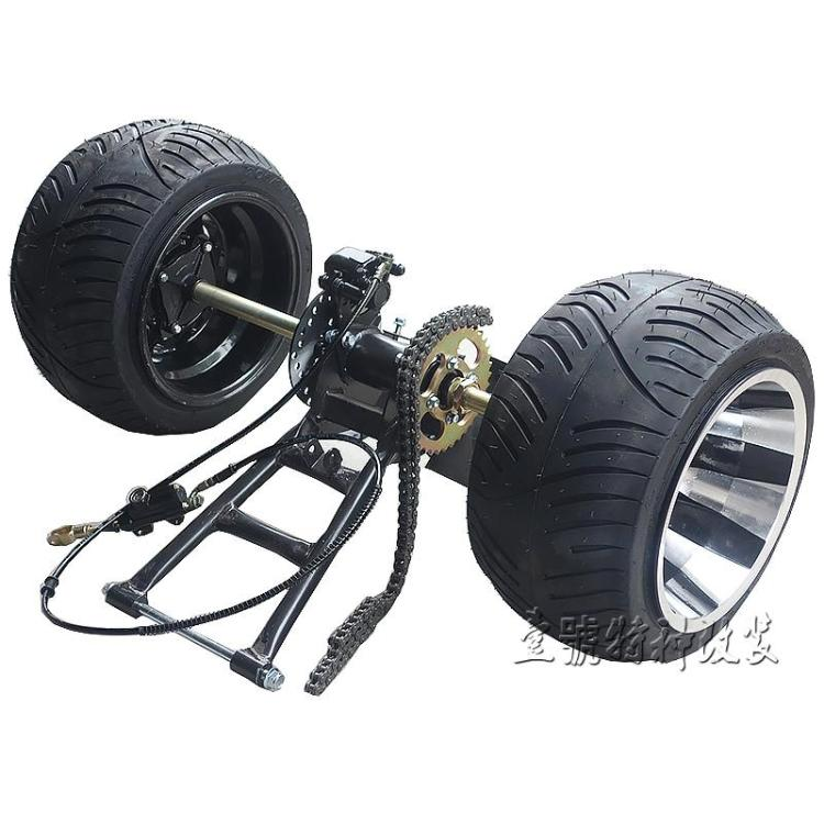Learned Go Kart Karting Atv Utv 1m Rear Axle Steering Gear Rack Pinion Swingarms Tie Rod Steering Wheel Brake Pump With 6 Inch Wheel Atv,rv,boat & Other Vehicle Go Kart Parts & Accessories